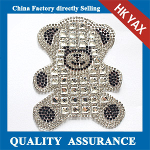 Yax-C012 Hot sale rhinestone patches