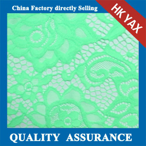 YAXL 1728 Nylon lace fabric hot sell