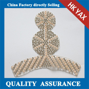 Yax-C019 ring shoes ornament rhinestone motifs