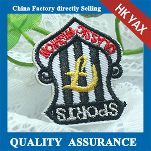 high quality custom embroidery patches garments