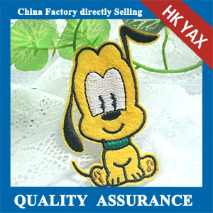 beauty cartoon customized embroidery patch