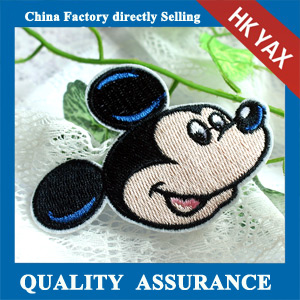 New design mickey mouse custom embroidery patch