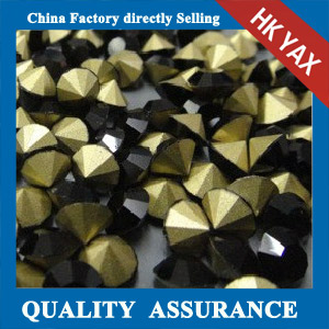 China factory black point back glass rhinestone
