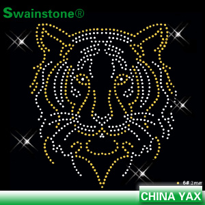 Custom Made Hotfix Rhinestone Motif